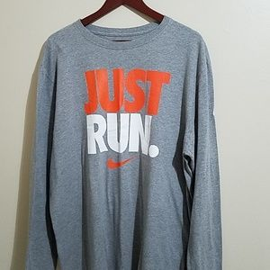 Nike long sleeved tshirt